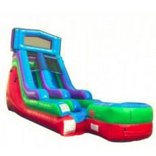 (A) 15ft Retro Screamer Water/Dry Slide