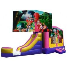 (C) Alice in Wonderland Bounce Slide combo (Wet or Dry)