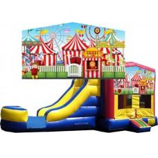 (C) Carnival Bounce Slide combo (Wet or Dry)