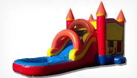 bounce slide combo rentals